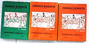 Caraka Samhita - in 3 vol