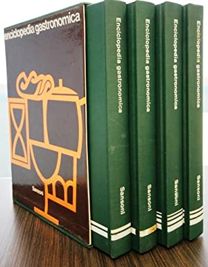 Enciclopedia gastronomica in 4 vol