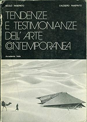 Tendenze e testimonianze dell'arte contemporanea