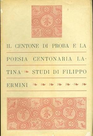 Il centone di Proba: Filippo Ermini