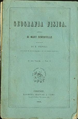 Geografia fisica - vol. I: Mary Sommerville