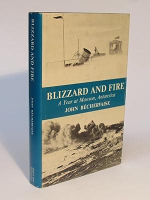 BLIZZARD AND FIRE: Bechervaise, John