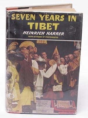 SEVEN YEARS IN TIBET: Harrer, Heinrich