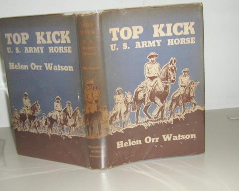 Top Kick U S Army Horse