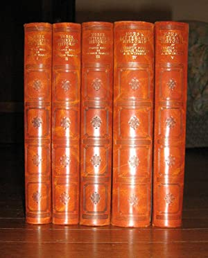 Norsk Litteratur Historie ( 5 Volume set): Bull, Francis; Paasche,