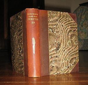 Samlede Skrifter : Fjortende Bind (Volume XIV) (Andet Supplementbind): Brandes, Georg