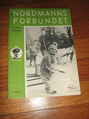 Nordmanns Forbundet Desember 1946: Nordmanns Forbundet