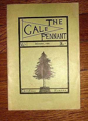 The Gale Pennant December 1909: Skar, Robert (editor in chief)