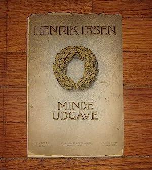 Samlede Vaerker Mindeudgave : Subskriptionsindbydelse with Publisher's: Ibsen, Henrik