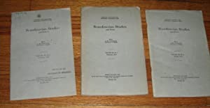 Scandinavian Studies and Notes 3 Issues February, August, November 1930: Sturtevant, A.M. (editor)