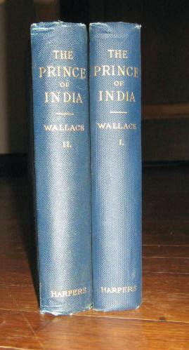 The Prince of India (2 Volumes): Wallace, Lew