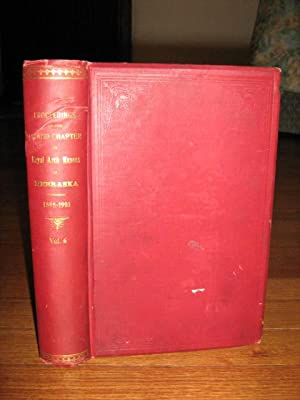 Proceedings of the Grand Chapter Royal Arch Masons of Nebraska 1898-1901: Illustrated by ...