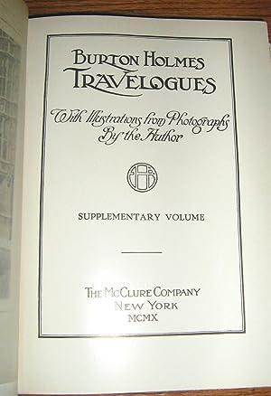 The Burton Holmes Lectures: Edition Original: 13 Volume Set: Holmes, E. Burton