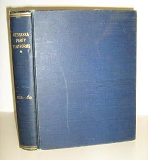 Nebraska Party Platforms 1858 - 1940: Works Projects Administration