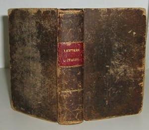 Lettres Sur L'Italie En 1785: Dupaty, Charles