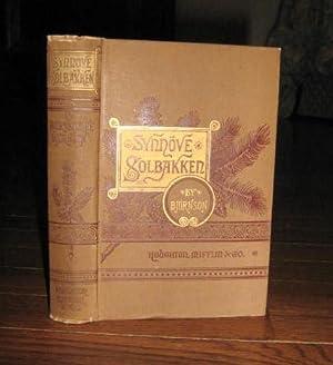 Synnove Solbakken: Bjornson, Bjornstjerne; Anderson, Rasmus B. (translator); Woodward, Aubertine (...