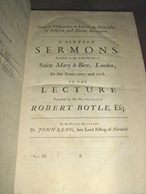 A Defence of Natural and Revealed Religion: Being a Collection of the Sermons Preached at the ...