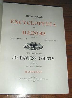 Historical Encyclopedia of Illinois and History of Jo Daviess County: Bateman, Newton; Selby, Paul;...