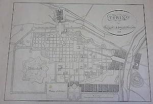 Torino coi Progetti d'Ingrandimento 1826.