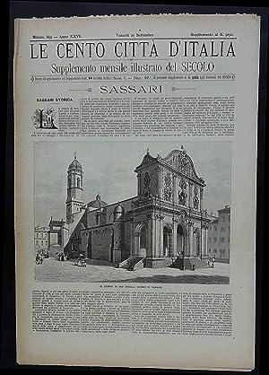 Le Cento Città d'Italia. Sassari, la Maddalena e Caprera.