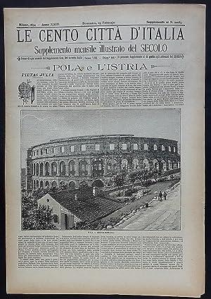 Le Cento Città d'Italia. Pola e l'Istria.