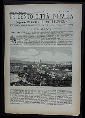 Le Cento Città d'Italia. Belluno.