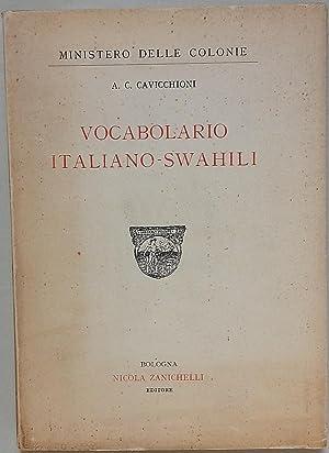 Vocabolario italiano-swahili.: Cavicchioni A.C.