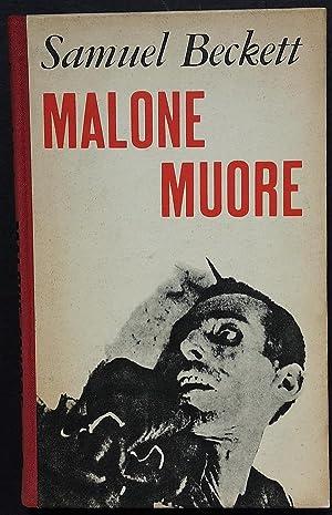Malone muore.: Beckett Samuel.