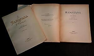 Il Ramayana di Valmici tradotto da Gaspare: Valmici (V�lmīki) (II