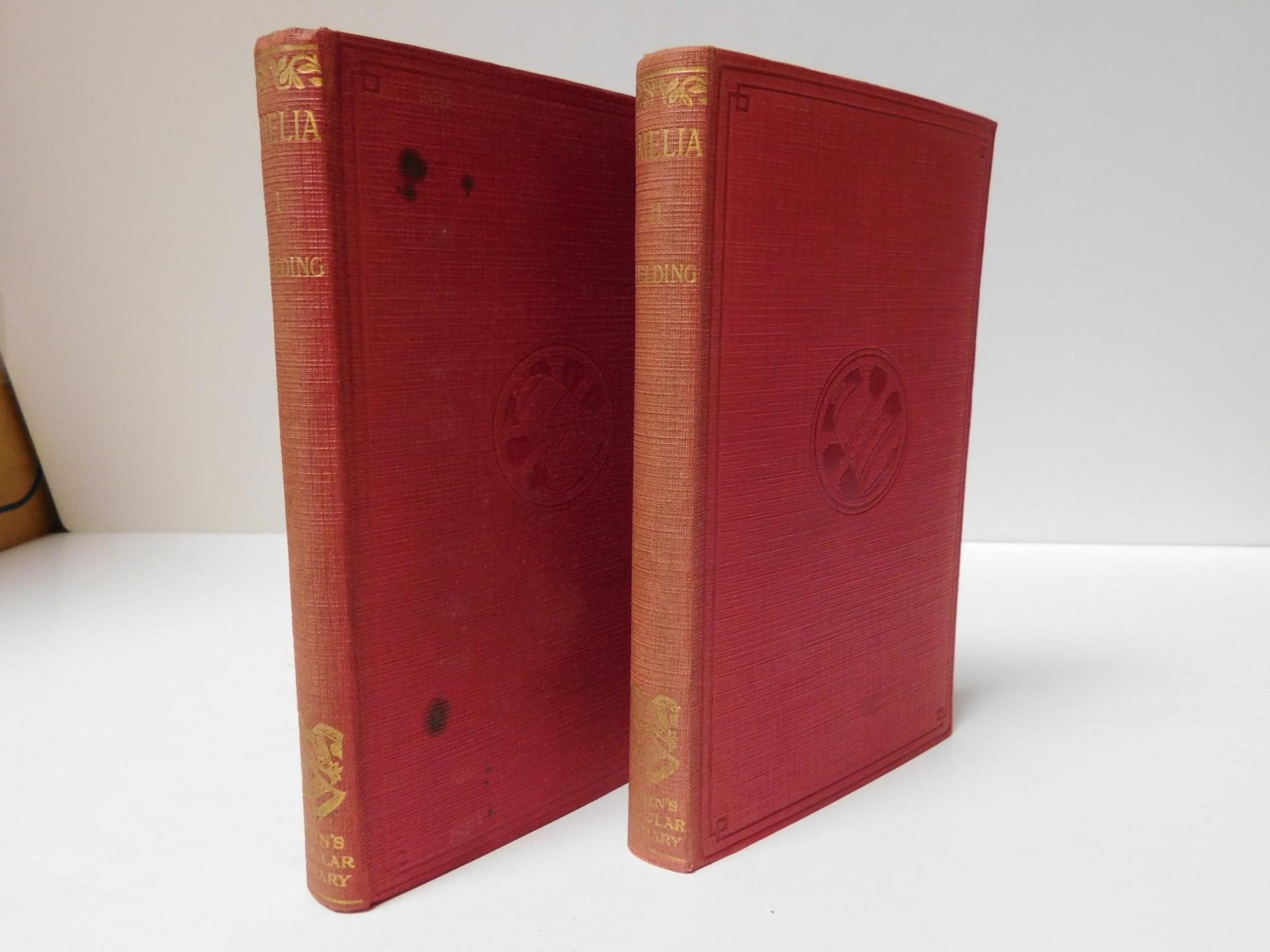 Amelia ( in Two Volumes Originally printed in 1751, in one volume) Henry Fielding Hardcover