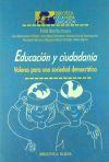 Educación y ciudadanía. Valores para una sociedad democrática - Biblioteca Nueva