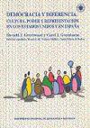 Democracia y diferencia : cultura, poder y representación en los Estados Unidos y en España - Prieto de Pedro, Jesús ; Velasco Maillo, Honorio M.