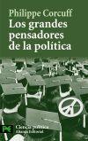 Los grandes pensadores de la política - Philippe Corcuff , y Elena Bombín Izquierdo