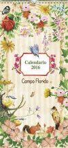 Calendario 2016 : Campo florido - VV.AA.