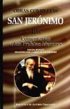 Obras completas de San Jerónimo. IIIa: Comentarios a los Profetas Menores - San Jerónimo