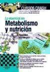 Lo esencial en metabolismo y nutrición: Appleton, Amber, Vanbergen,