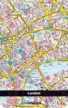 Libreta Apaisada: Mapa London City (10 X 15 )