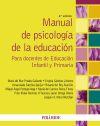 Manual de psicología de la educación: Mora Merchán, Joaquín;