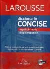 Diccionario Concise español-ingles / inglés-español: Larousse