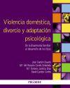 Violencia doméstica, divorcio y adaptación psicológica: Cantón Cortés, David;