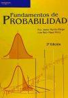 Fundamentos de probabilidad: MARTÍN PLIEGO, FRANCISCO
