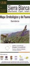 Mapa de senderos y fauna de Sierra: Duarte Duarte, Jesús,