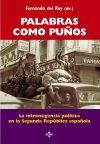 Palabras como puños: Fernando del Rey