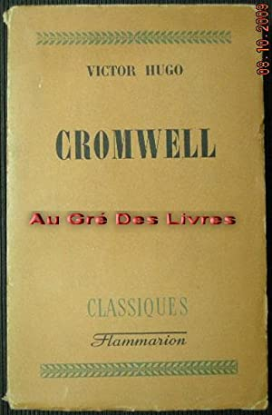 CROMWELL, in-8, br, 449 pp: HUGO victor