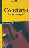 Concierto en sol mayor - Sierra i Fabra, Jordi