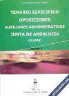 TEMARIO ESPECIFICO OPOSICIONES AUX.ADMINISTRATIVA JUNTA ANDALUCIA - ALVAREZ ALVAREZ, FLORENTINA