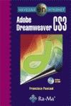 NAVEGAR EN INTERNET: ADOBE DREAMWEAVER CS3. INCLUYE CD-ROM. - PASCUAL GONZALEZ, FRANCISCO