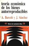 TEORIA ECONOMICA DE LOS BIENES A - Barcel¢, A.