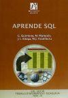 Aprende SQL - Quintana Ortí, Gregorio; Marqués Andrés, María Mercedes; Aliaga Estellés, José Ignacio