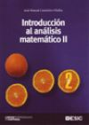 Introducción al análisis matemático II: Casteleiro, Jose Manuel